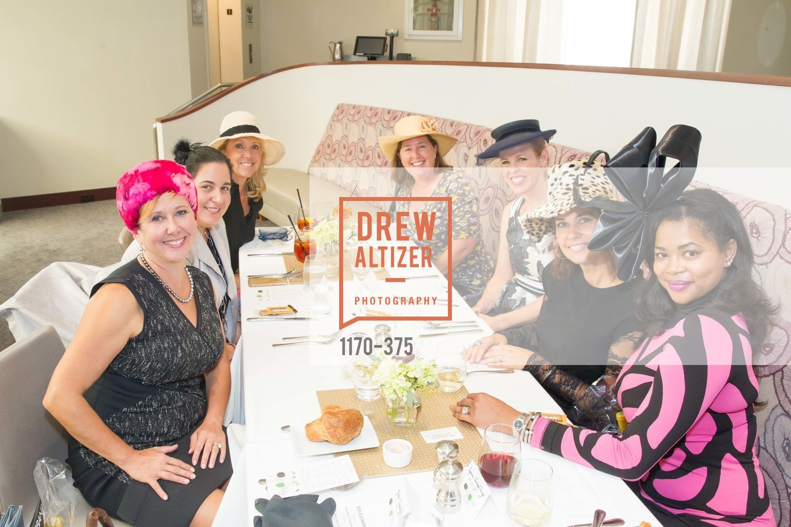 Anne Mieling, Renee Hellman, Caroline Jones, Dana Rodenberger, Ayanna Jenkins Toney, SF Zoo Auxiliary Hosts Birds of a Feather Luncheon, Neiman Marcus, Rotunda. Level Four, 150 Stockton St, October 14th, 2015,Drew Altizer, Drew Altizer Photography, full-service agency, private events, San Francisco photographer, photographer california