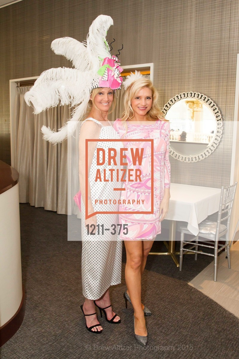 Belinda Berry, Heidi Snow Cinader, SF Zoo Auxiliary Hosts Birds of a Feather Luncheon, Neiman Marcus, Rotunda. Level Four, 150 Stockton St, October 14th, 2015