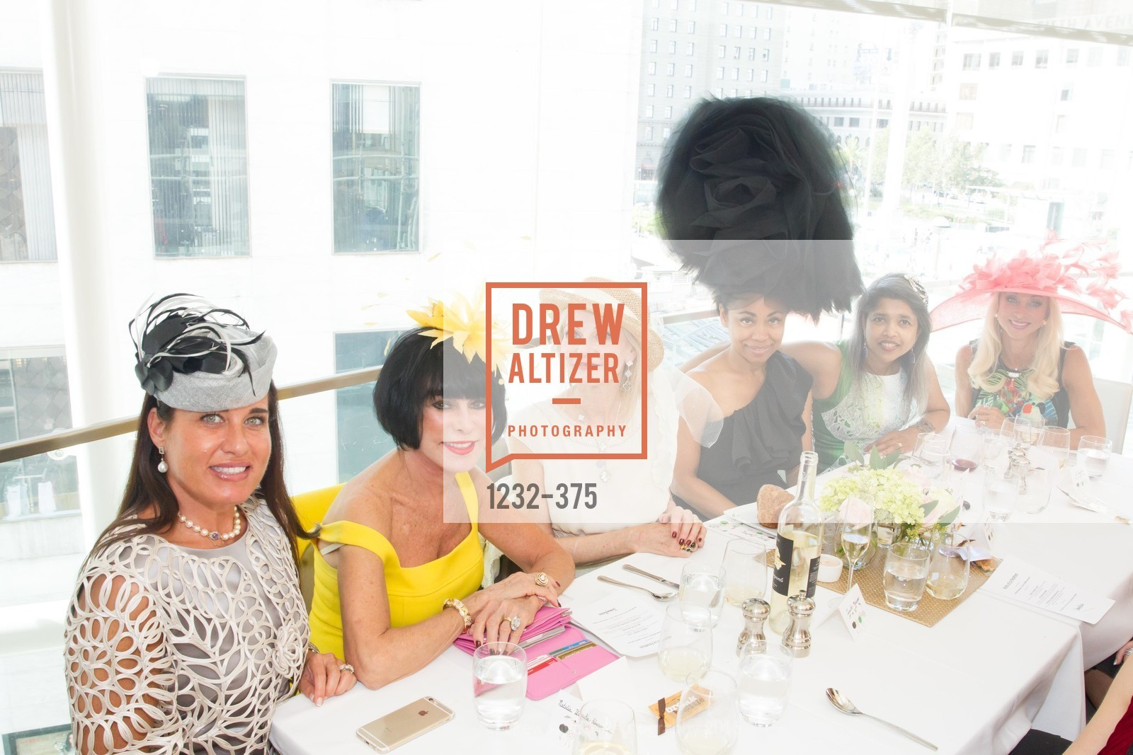 Natalia Urrutia, Marilyn Cabak, Diane Carlson, Tanya Powell, Deepa Pakianathan, Daru Kawalkowski, SF Zoo Auxiliary Hosts Birds of a Feather Luncheon, Neiman Marcus, Rotunda. Level Four, 150 Stockton St, October 14th, 2015