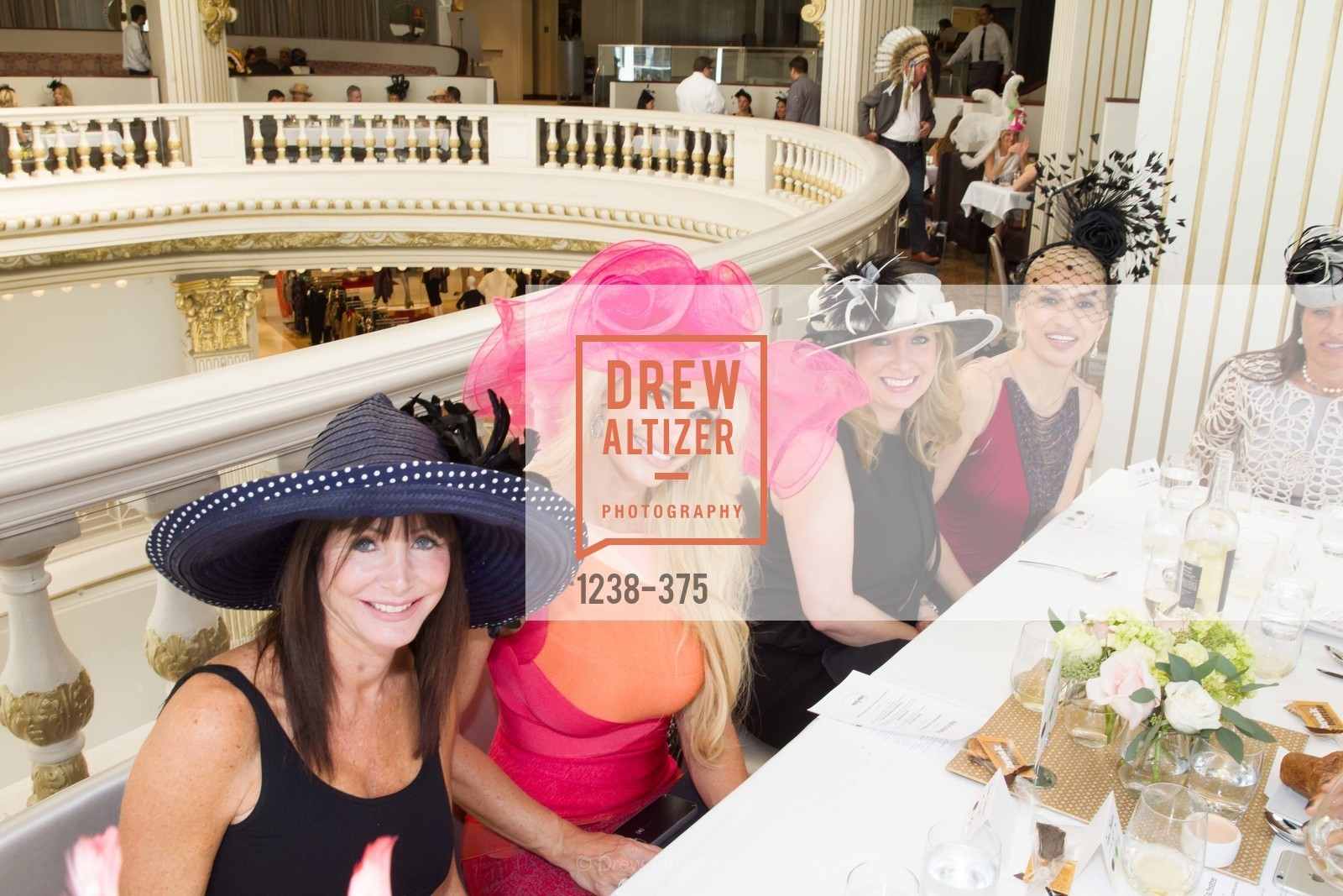 Jill Finegold, Tiara Cameron, Navid Armstrong, SF Zoo Auxiliary Hosts Birds of a Feather Luncheon, Neiman Marcus, Rotunda. Level Four, 150 Stockton St, October 14th, 2015,Drew Altizer, Drew Altizer Photography, full-service agency, private events, San Francisco photographer, photographer california