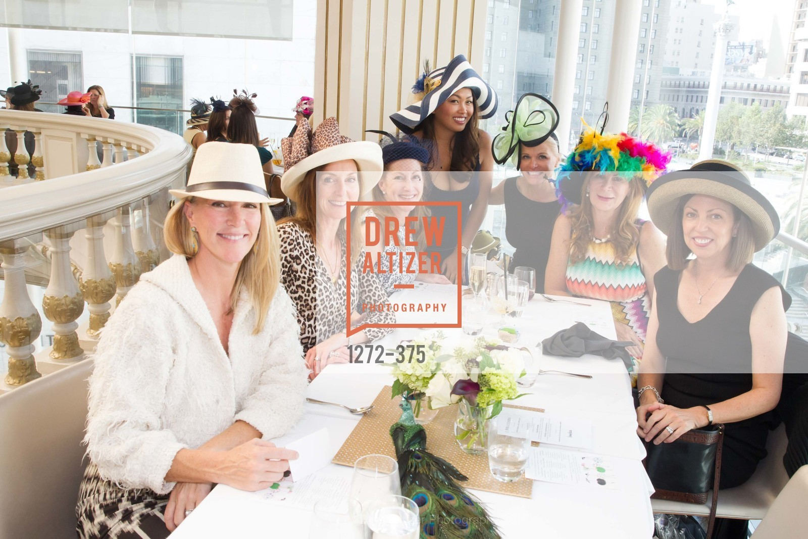 Deborah Keane, Amanda Hoenigman, Sunnie Heng, Lori Shigekane, Trish Loucks, Elisabeth Smith, SF Zoo Auxiliary Hosts Birds of a Feather Luncheon, Neiman Marcus, Rotunda. Level Four, 150 Stockton St, October 14th, 2015,Drew Altizer, Drew Altizer Photography, full-service agency, private events, San Francisco photographer, photographer california