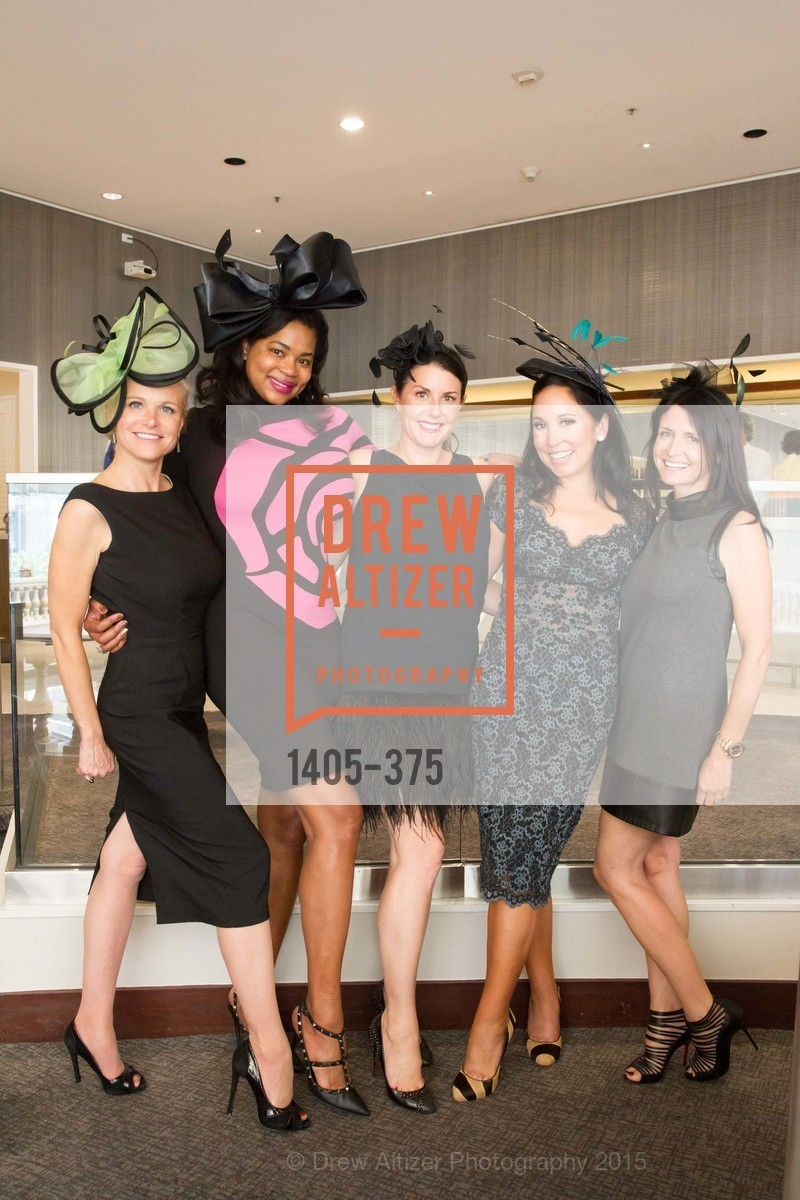 Lori Shigekane, Ayanna Jenkins Toney, Carissa Ashman, Michelle Molfino, SF Zoo Auxiliary Hosts Birds of a Feather Luncheon, Neiman Marcus, Rotunda. Level Four, 150 Stockton St, October 14th, 2015,Drew Altizer, Drew Altizer Photography, full-service agency, private events, San Francisco photographer, photographer california