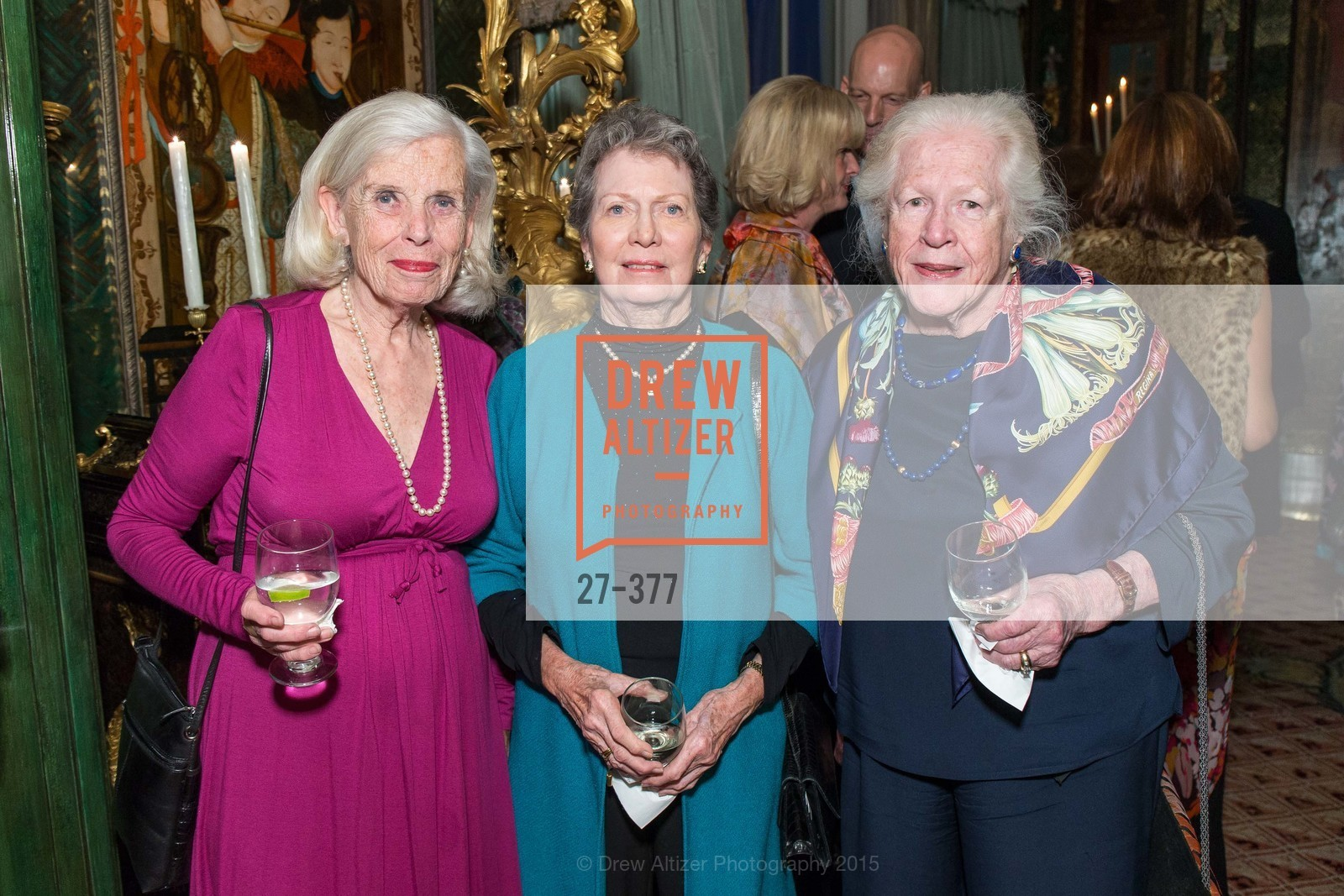 Betty Wallerstein, Carol Buck, Helen O'Hamlet, Ann and Gordon Getty Host SF Conservatory of Music with Marilyn Horne, Private Residence, October 15th, 2015,Drew Altizer, Drew Altizer Photography, full-service event agency, private events, San Francisco photographer, photographer California