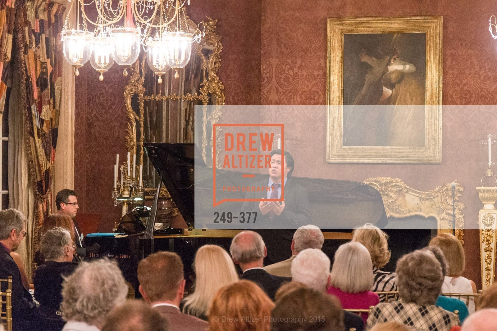 Performance, Ann and Gordon Getty Host SF Conservatory of Music with Marilyn Horne, Private Residence, October 15th, 2015,Drew Altizer, Drew Altizer Photography, full-service agency, private events, San Francisco photographer, photographer california