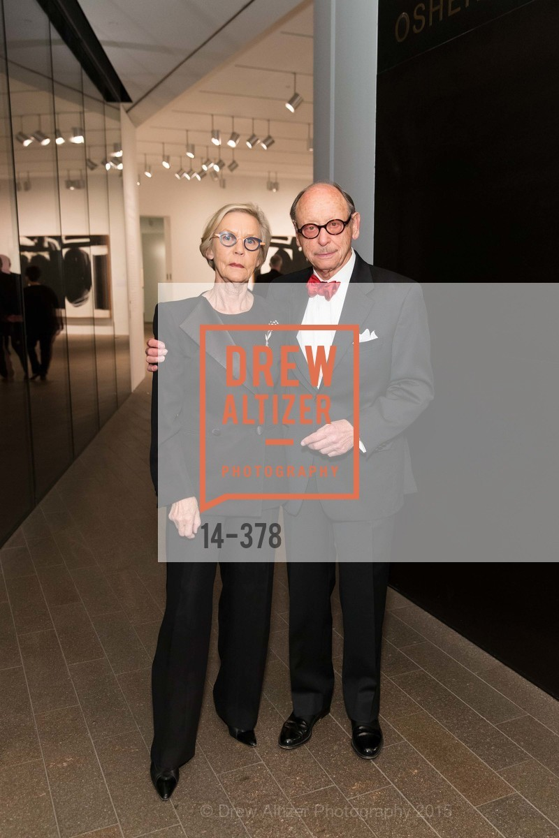 Barbro Osher, Bernard Osher, Tenth Anniversary Celebration of the New de Young  Museum, de Young Museum. 50 Hagiwara Tea Garden Dr, October 14th, 2015,Drew Altizer, Drew Altizer Photography, full-service agency, private events, San Francisco photographer, photographer california