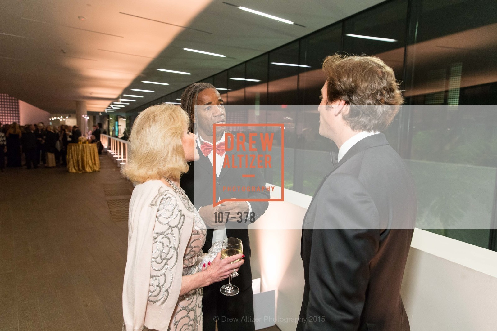 Dede Wilsey, Walter Hood, Trevor Traina, Tenth Anniversary Celebration of the New de Young  Museum, de Young Museum. 50 Hagiwara Tea Garden Dr, October 14th, 2015,Drew Altizer, Drew Altizer Photography, full-service agency, private events, San Francisco photographer, photographer california
