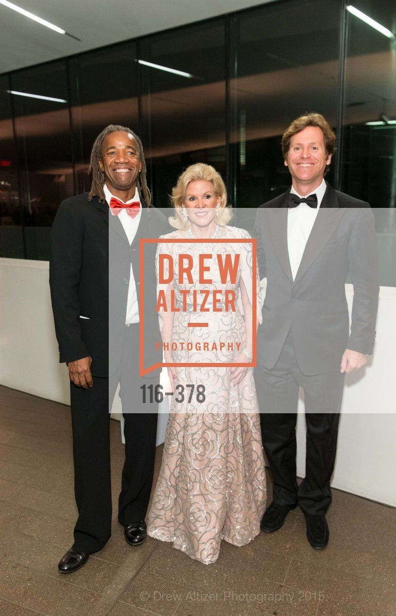 Walter Hood, Dede Wilsey, Trevor Traina, Tenth Anniversary Celebration of the New de Young  Museum, de Young Museum. 50 Hagiwara Tea Garden Dr, October 14th, 2015,Drew Altizer, Drew Altizer Photography, full-service agency, private events, San Francisco photographer, photographer california