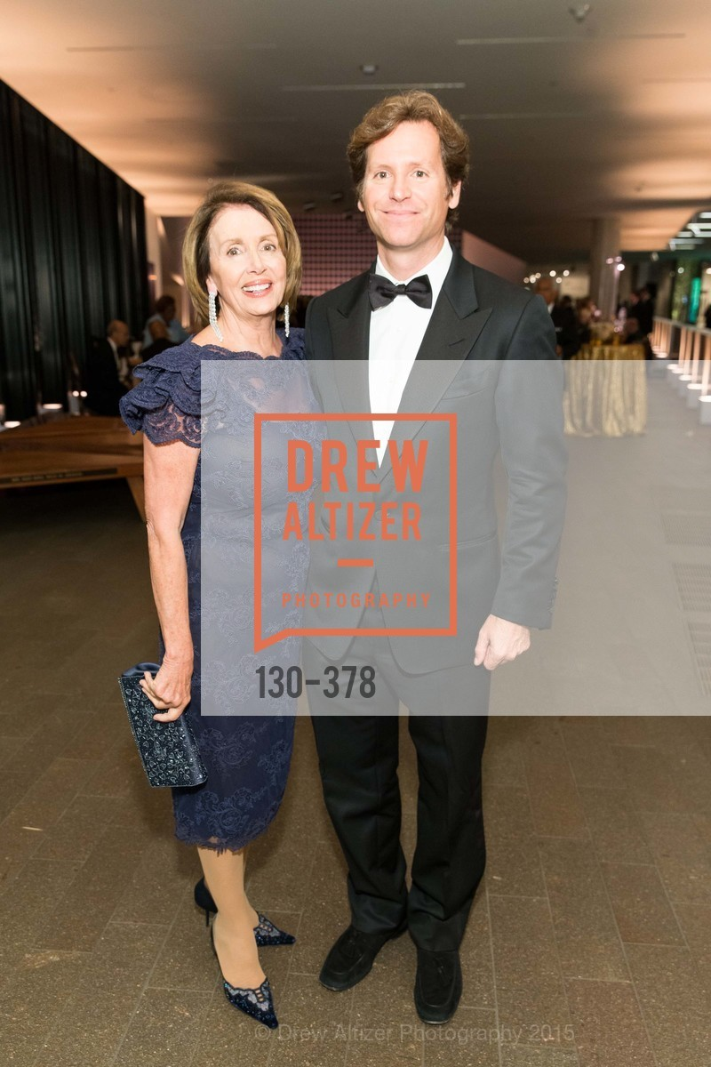 Nancy Pelosi, Trevor Traina, Tenth Anniversary Celebration of the New de Young  Museum, de Young Museum. 50 Hagiwara Tea Garden Dr, October 14th, 2015,Drew Altizer, Drew Altizer Photography, full-service agency, private events, San Francisco photographer, photographer california