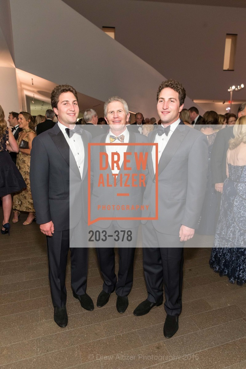 Matthew Goldman, Doug Goldman, Jason Goldman, Tenth Anniversary Celebration of the New de Young  Museum, de Young Museum. 50 Hagiwara Tea Garden Dr, October 14th, 2015,Drew Altizer, Drew Altizer Photography, full-service agency, private events, San Francisco photographer, photographer california