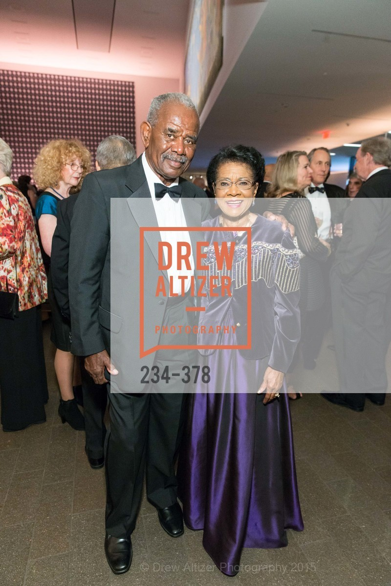 William Moore, Belva Davis, Tenth Anniversary Celebration of the New de Young  Museum, de Young Museum. 50 Hagiwara Tea Garden Dr, October 14th, 2015,Drew Altizer, Drew Altizer Photography, full-service agency, private events, San Francisco photographer, photographer california