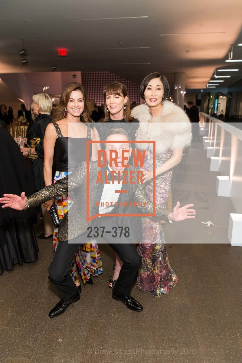 Carol Bonnie, Ken Fulk, Allison Speer, Yurie Pascarella, Tenth Anniversary Celebration of the New de Young  Museum, de Young Museum. 50 Hagiwara Tea Garden Dr, October 14th, 2015,Drew Altizer, Drew Altizer Photography, full-service agency, private events, San Francisco photographer, photographer california