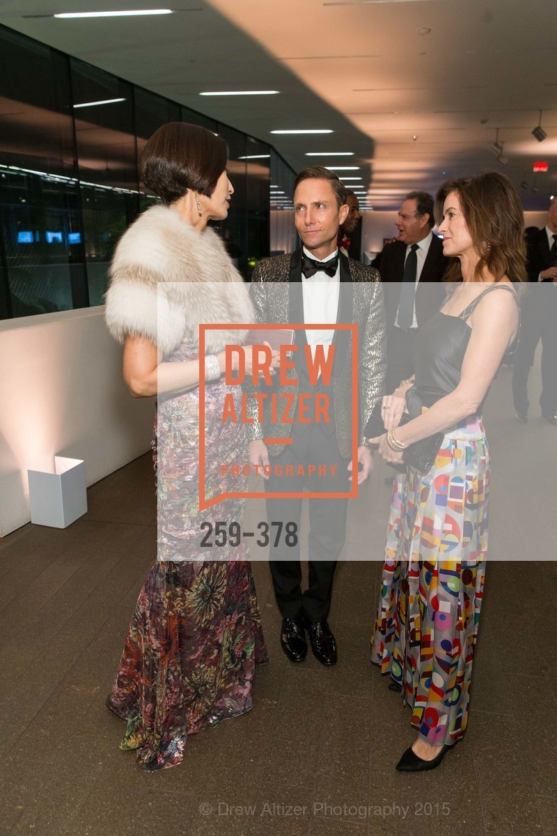 Yurie Pascarella, Ken Fulk, Carol Bonnie, Tenth Anniversary Celebration of the New de Young  Museum, de Young Museum. 50 Hagiwara Tea Garden Dr, October 14th, 2015,Drew Altizer, Drew Altizer Photography, full-service agency, private events, San Francisco photographer, photographer california