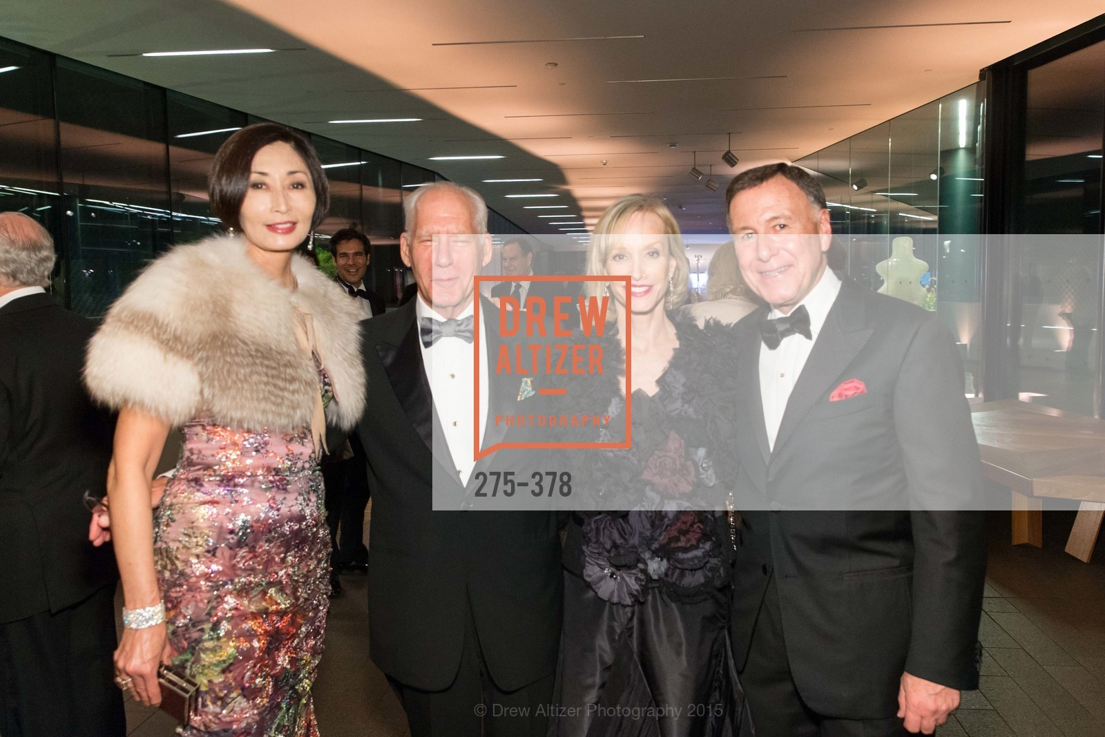 Yurie Pascarella, Gary Shansby, OJ Shansby, Carl Pascarella, Tenth Anniversary Celebration of the New de Young  Museum, de Young Museum. 50 Hagiwara Tea Garden Dr, October 14th, 2015,Drew Altizer, Drew Altizer Photography, full-service agency, private events, San Francisco photographer, photographer california