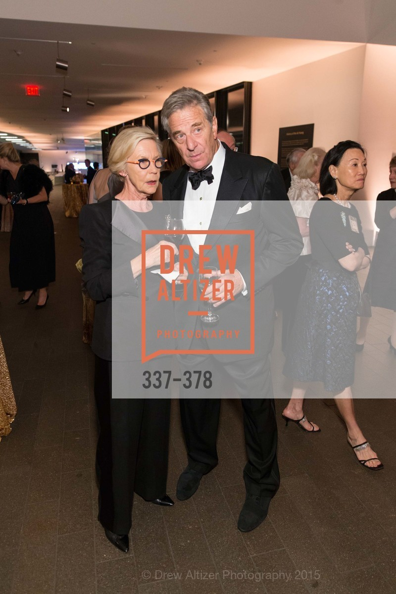 Barbro Osher, Paul Pelosi, Tenth Anniversary Celebration of the New de Young  Museum, de Young Museum. 50 Hagiwara Tea Garden Dr, October 14th, 2015,Drew Altizer, Drew Altizer Photography, full-service event agency, private events, San Francisco photographer, photographer California