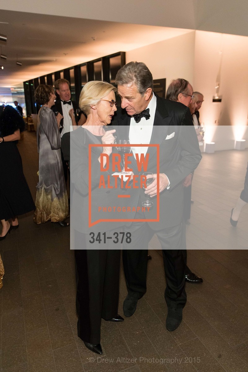 Barbro Osher, Paul Pelosi, Tenth Anniversary Celebration of the New de Young  Museum, de Young Museum. 50 Hagiwara Tea Garden Dr, October 14th, 2015,Drew Altizer, Drew Altizer Photography, full-service agency, private events, San Francisco photographer, photographer california