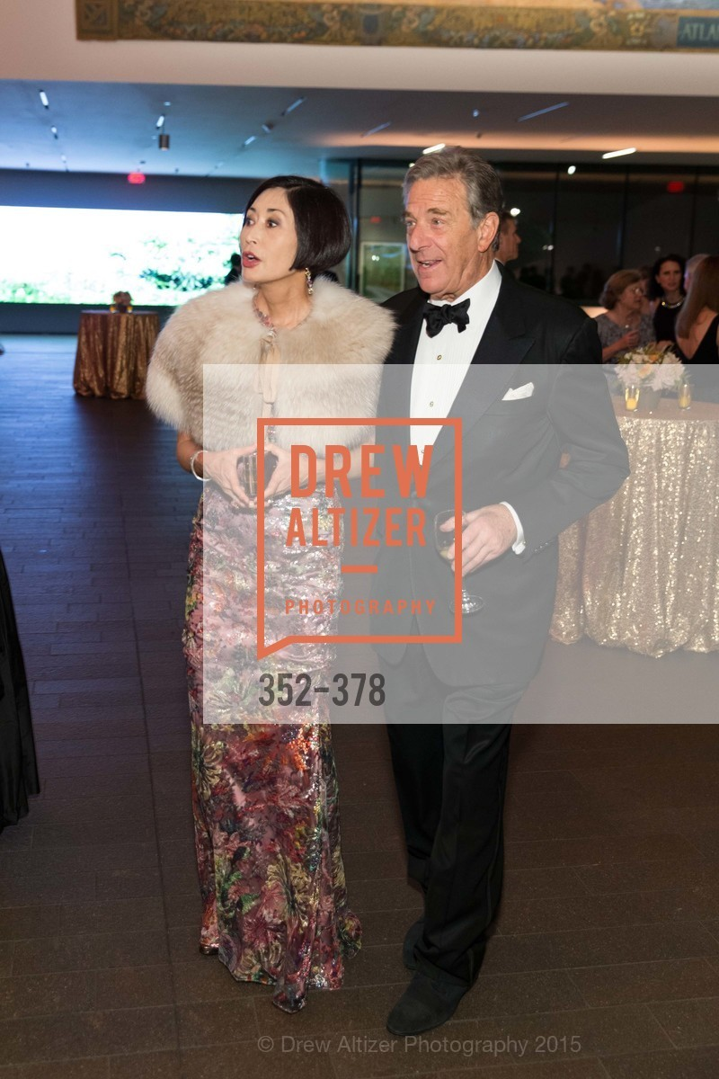 Yurie Pascarella, Paul Pelosi, Tenth Anniversary Celebration of the New de Young  Museum, de Young Museum. 50 Hagiwara Tea Garden Dr, October 14th, 2015,Drew Altizer, Drew Altizer Photography, full-service agency, private events, San Francisco photographer, photographer california