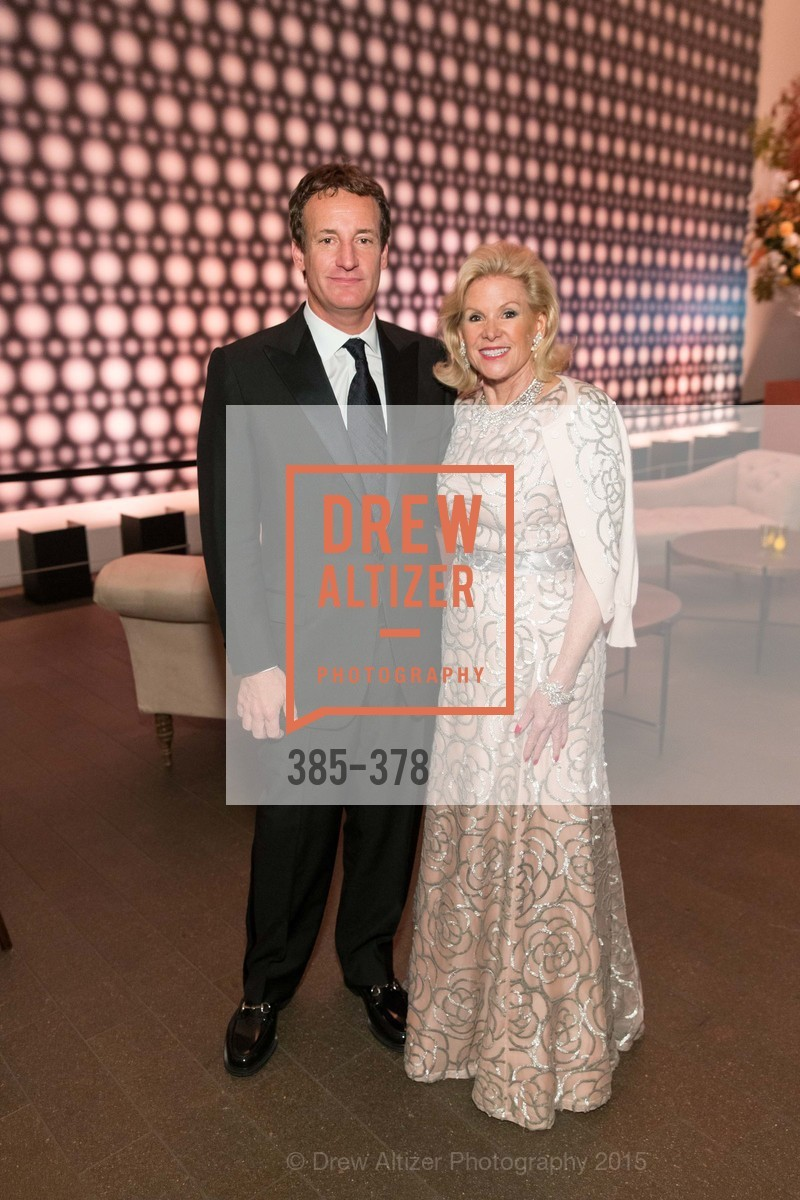 Todd Traina, Dede Wilsey, Tenth Anniversary Celebration of the New de Young  Museum, de Young Museum. 50 Hagiwara Tea Garden Dr, October 14th, 2015,Drew Altizer, Drew Altizer Photography, full-service agency, private events, San Francisco photographer, photographer california