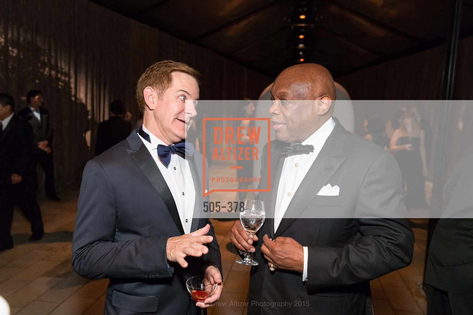 Trent Norris, Willie Brown, Tenth Anniversary Celebration of the New de Young  Museum, de Young Museum. 50 Hagiwara Tea Garden Dr, October 14th, 2015,Drew Altizer, Drew Altizer Photography, full-service agency, private events, San Francisco photographer, photographer california