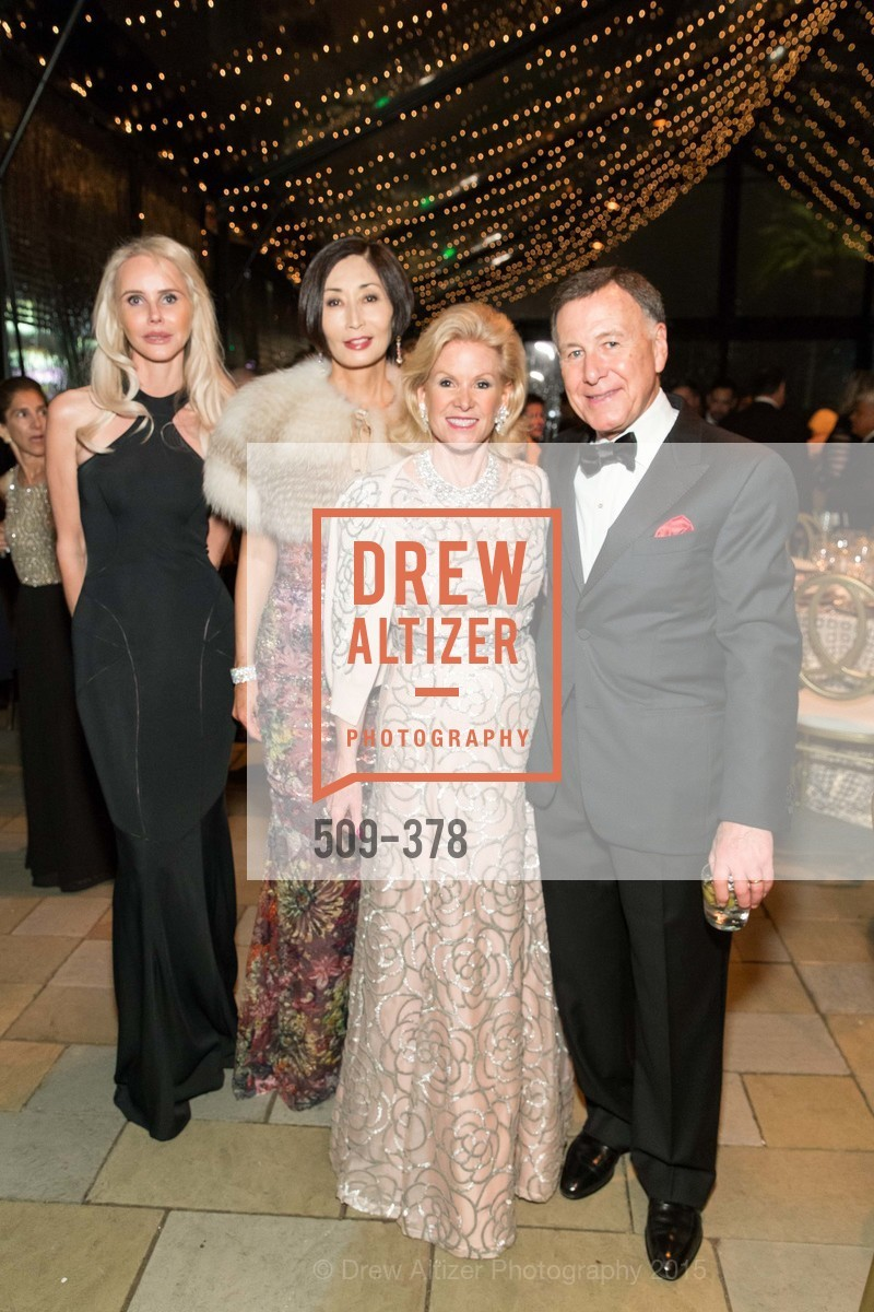 Vanessa Getty, Yurie Pascarella, Dede Wilsey, Carl Pascarella, Tenth Anniversary Celebration of the New de Young  Museum, de Young Museum. 50 Hagiwara Tea Garden Dr, October 14th, 2015,Drew Altizer, Drew Altizer Photography, full-service agency, private events, San Francisco photographer, photographer california