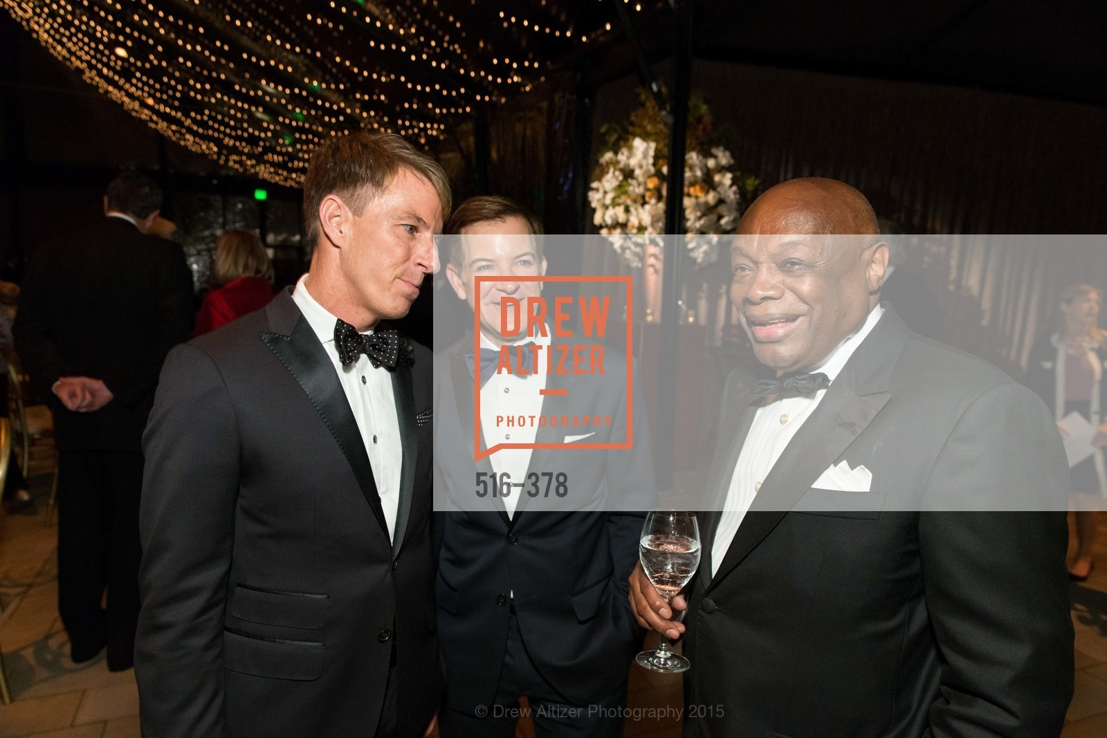 Jack Calhoun, Trent Norris, Willie Brown, Tenth Anniversary Celebration of the New de Young  Museum, de Young Museum. 50 Hagiwara Tea Garden Dr, October 14th, 2015,Drew Altizer, Drew Altizer Photography, full-service agency, private events, San Francisco photographer, photographer california
