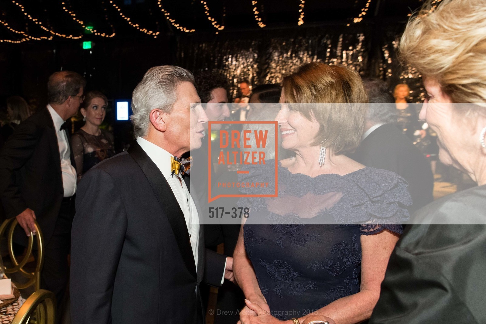 Doug Goldman, Nancy Pelosi, Judy Marcus, Tenth Anniversary Celebration of the New de Young  Museum, de Young Museum. 50 Hagiwara Tea Garden Dr, October 14th, 2015,Drew Altizer, Drew Altizer Photography, full-service event agency, private events, San Francisco photographer, photographer California