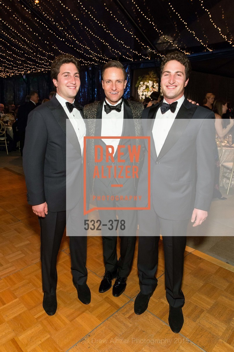 Jason Goldman, Ken Fulk, Matthew Goldman, Tenth Anniversary Celebration of the New de Young  Museum, de Young Museum. 50 Hagiwara Tea Garden Dr, October 14th, 2015,Drew Altizer, Drew Altizer Photography, full-service agency, private events, San Francisco photographer, photographer california