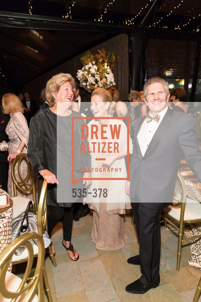 Judy Marcus, Lisa Goldman, Doug Goldman, Tenth Anniversary Celebration of the New de Young  Museum, de Young Museum. 50 Hagiwara Tea Garden Dr, October 14th, 2015,Drew Altizer, Drew Altizer Photography, full-service agency, private events, San Francisco photographer, photographer california