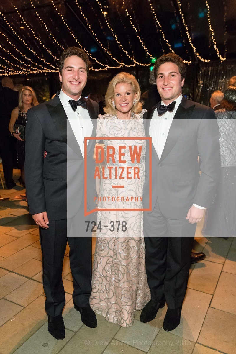 Jason Goldman, Dede Wilsey, Matthew Goldman, Tenth Anniversary Celebration of the New de Young  Museum, de Young Museum. 50 Hagiwara Tea Garden Dr, October 14th, 2015,Drew Altizer, Drew Altizer Photography, full-service event agency, private events, San Francisco photographer, photographer California