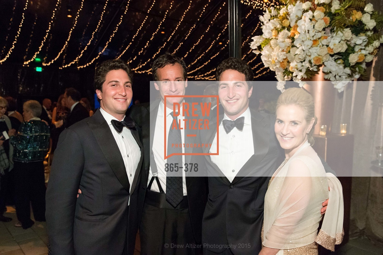 Jason Goldman, Todd Traina, Matthew Goldman, Lisa Goldman, Tenth Anniversary Celebration of the New de Young  Museum, de Young Museum. 50 Hagiwara Tea Garden Dr, October 14th, 2015,Drew Altizer, Drew Altizer Photography, full-service agency, private events, San Francisco photographer, photographer california