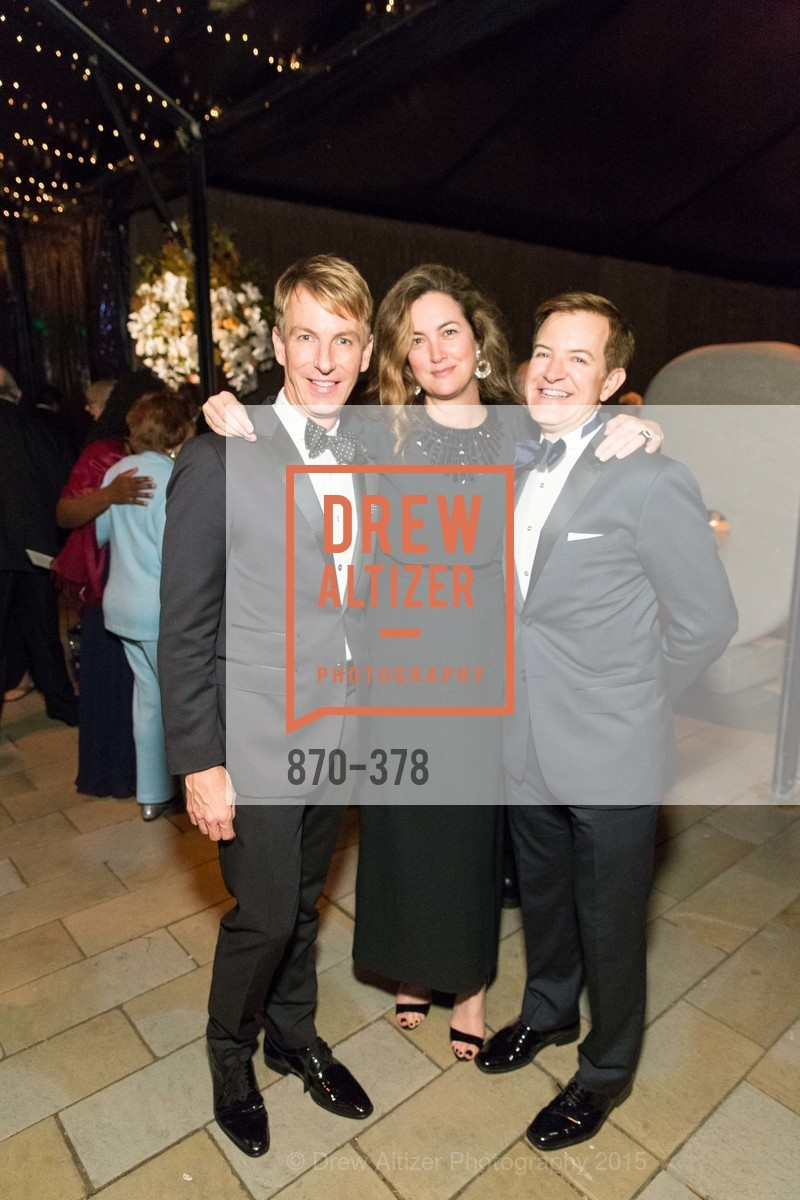 Jack Calhoun, Alexis Traina, Trent Norris, Tenth Anniversary Celebration of the New de Young  Museum, de Young Museum. 50 Hagiwara Tea Garden Dr, October 14th, 2015,Drew Altizer, Drew Altizer Photography, full-service agency, private events, San Francisco photographer, photographer california