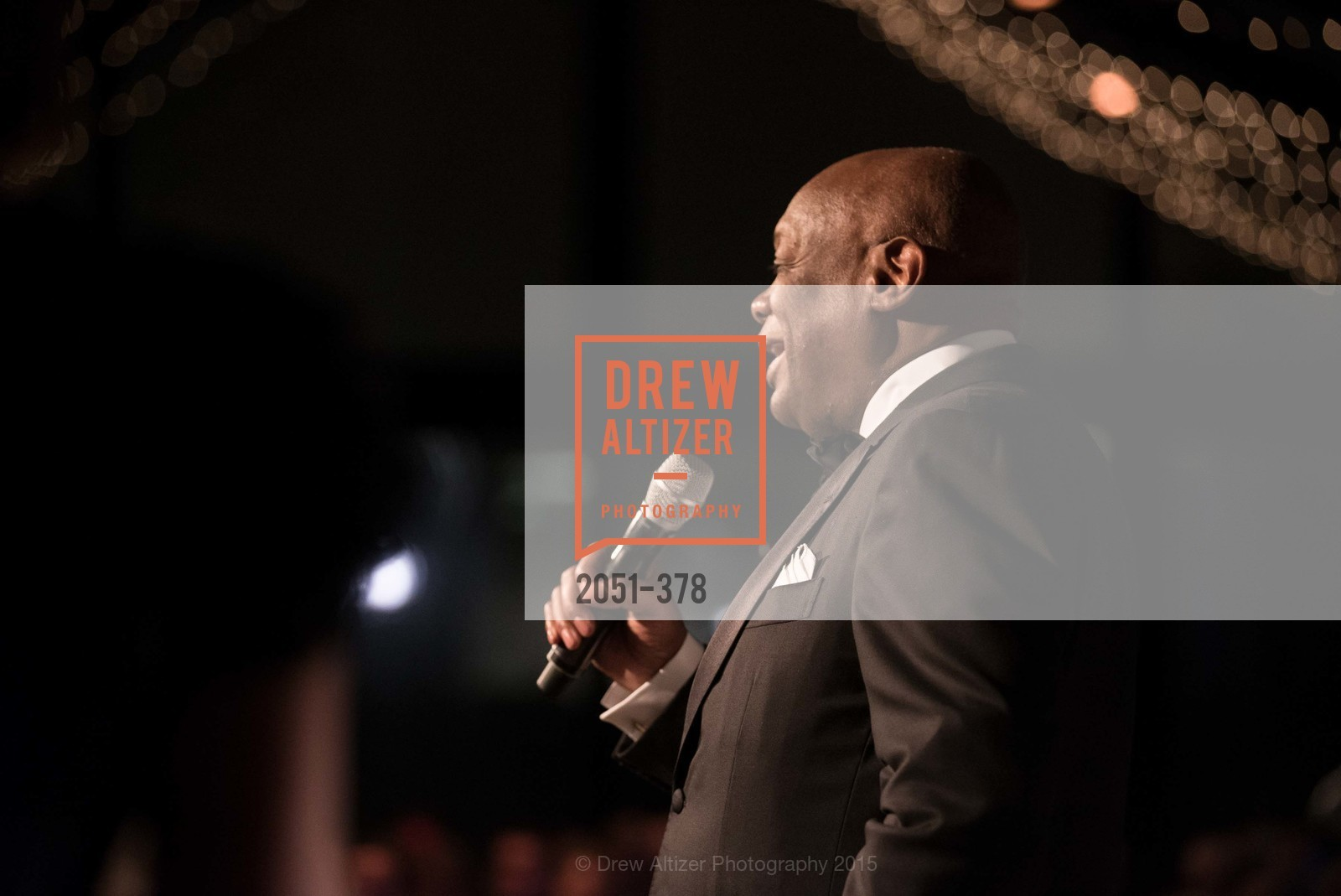 Willie Brown, Tenth Anniversary Celebration of the New de Young  Museum, de Young Museum. 50 Hagiwara Tea Garden Dr, October 14th, 2015,Drew Altizer, Drew Altizer Photography, full-service agency, private events, San Francisco photographer, photographer california