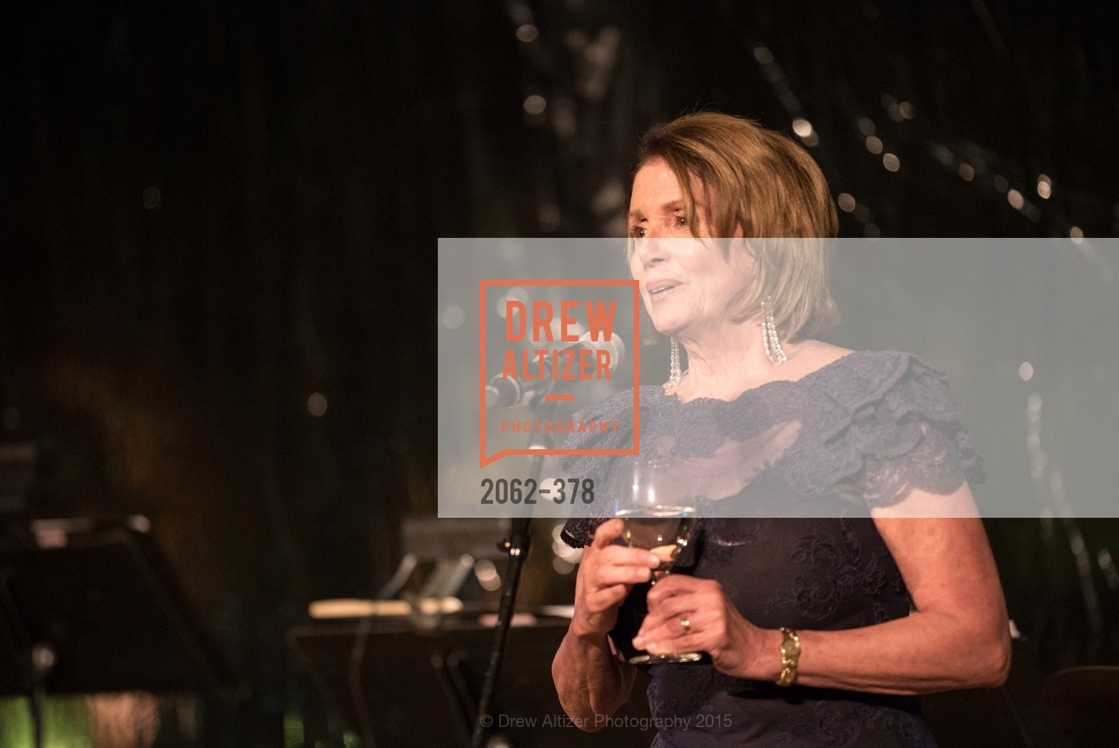 Nancy Pelosi, Tenth Anniversary Celebration of the New de Young  Museum, de Young Museum. 50 Hagiwara Tea Garden Dr, October 14th, 2015,Drew Altizer, Drew Altizer Photography, full-service agency, private events, San Francisco photographer, photographer california