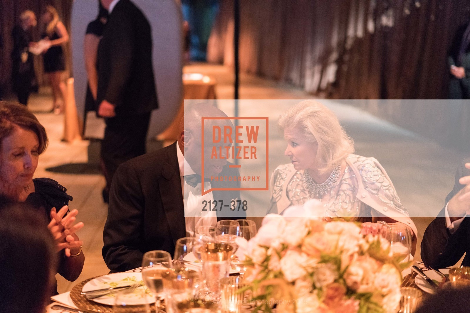 Willie Brown, Dede Wilsey, Tenth Anniversary Celebration of the New de Young  Museum, de Young Museum. 50 Hagiwara Tea Garden Dr, October 14th, 2015,Drew Altizer, Drew Altizer Photography, full-service agency, private events, San Francisco photographer, photographer california