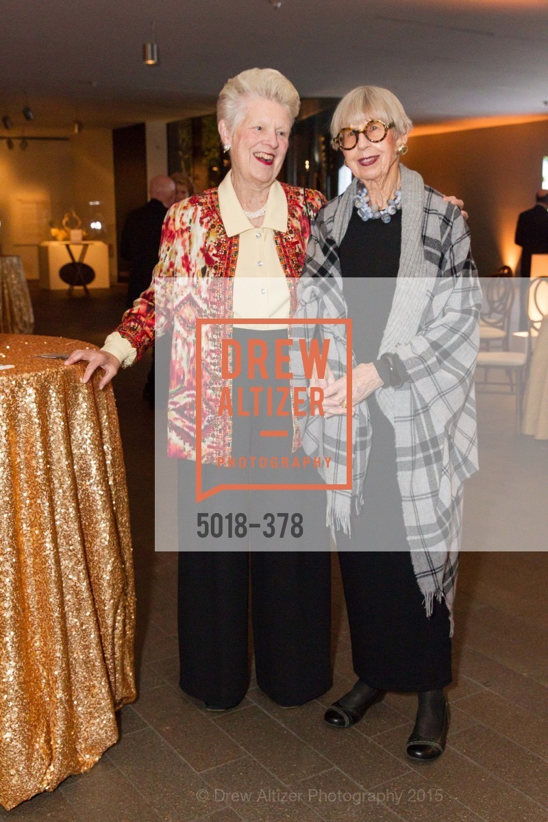 Louise Renne, Stephanie MacColl, Tenth Anniversary Celebration of the New de Young  Museum, de Young Museum. 50 Hagiwara Tea Garden Dr, October 14th, 2015,Drew Altizer, Drew Altizer Photography, full-service agency, private events, San Francisco photographer, photographer california