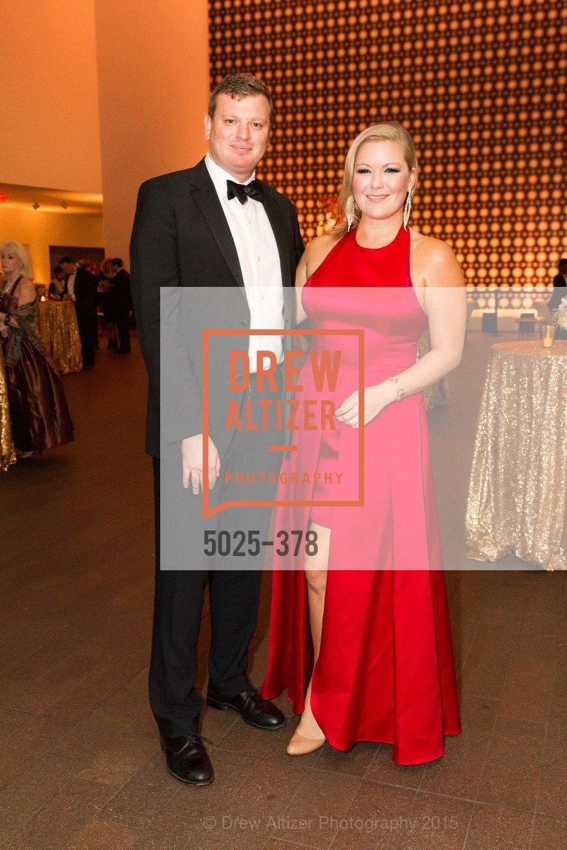 Joshua Reynolds, Liz Curtis, Tenth Anniversary Celebration of the New de Young  Museum, de Young Museum. 50 Hagiwara Tea Garden Dr, October 14th, 2015,Drew Altizer, Drew Altizer Photography, full-service event agency, private events, San Francisco photographer, photographer California