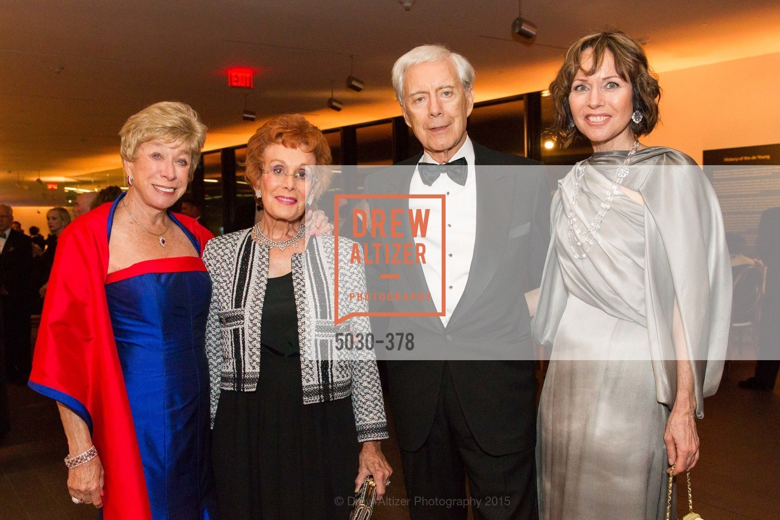Maria Pitcairn, Phoebe Cowles, Robert Girard, Christine Suppes, Tenth Anniversary Celebration of the New de Young  Museum, de Young Museum. 50 Hagiwara Tea Garden Dr, October 14th, 2015,Drew Altizer, Drew Altizer Photography, full-service agency, private events, San Francisco photographer, photographer california