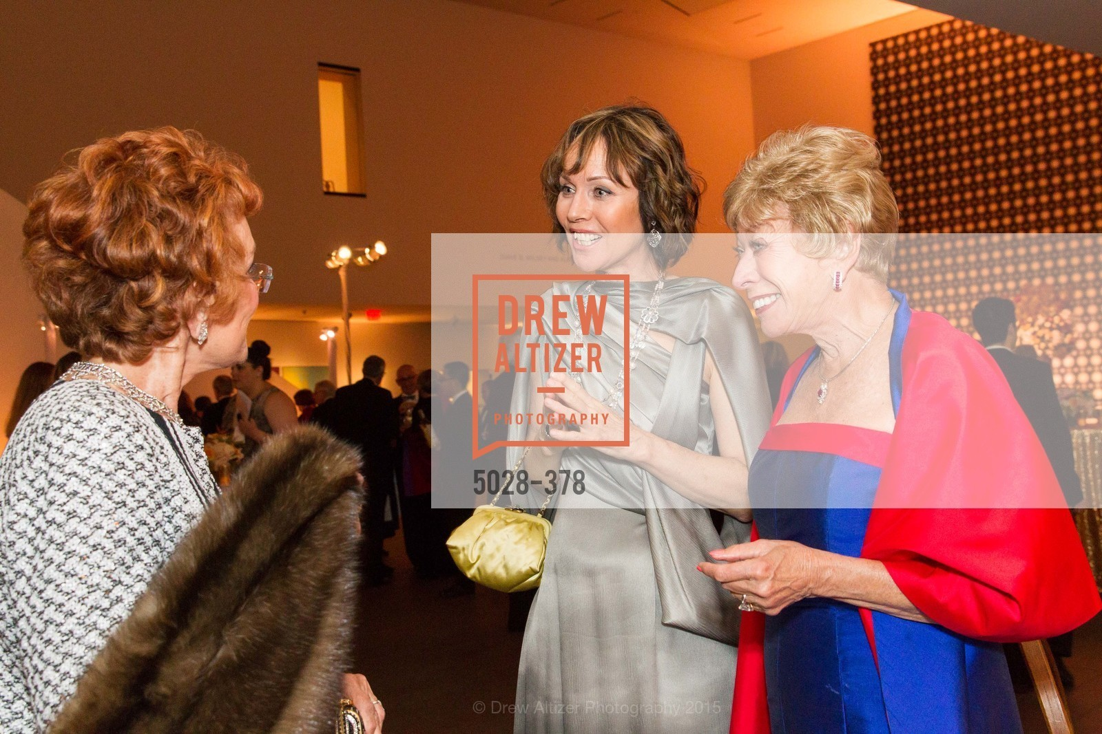 Christine Suppes, Maria Pitcairn, Tenth Anniversary Celebration of the New de Young  Museum, de Young Museum. 50 Hagiwara Tea Garden Dr, October 14th, 2015