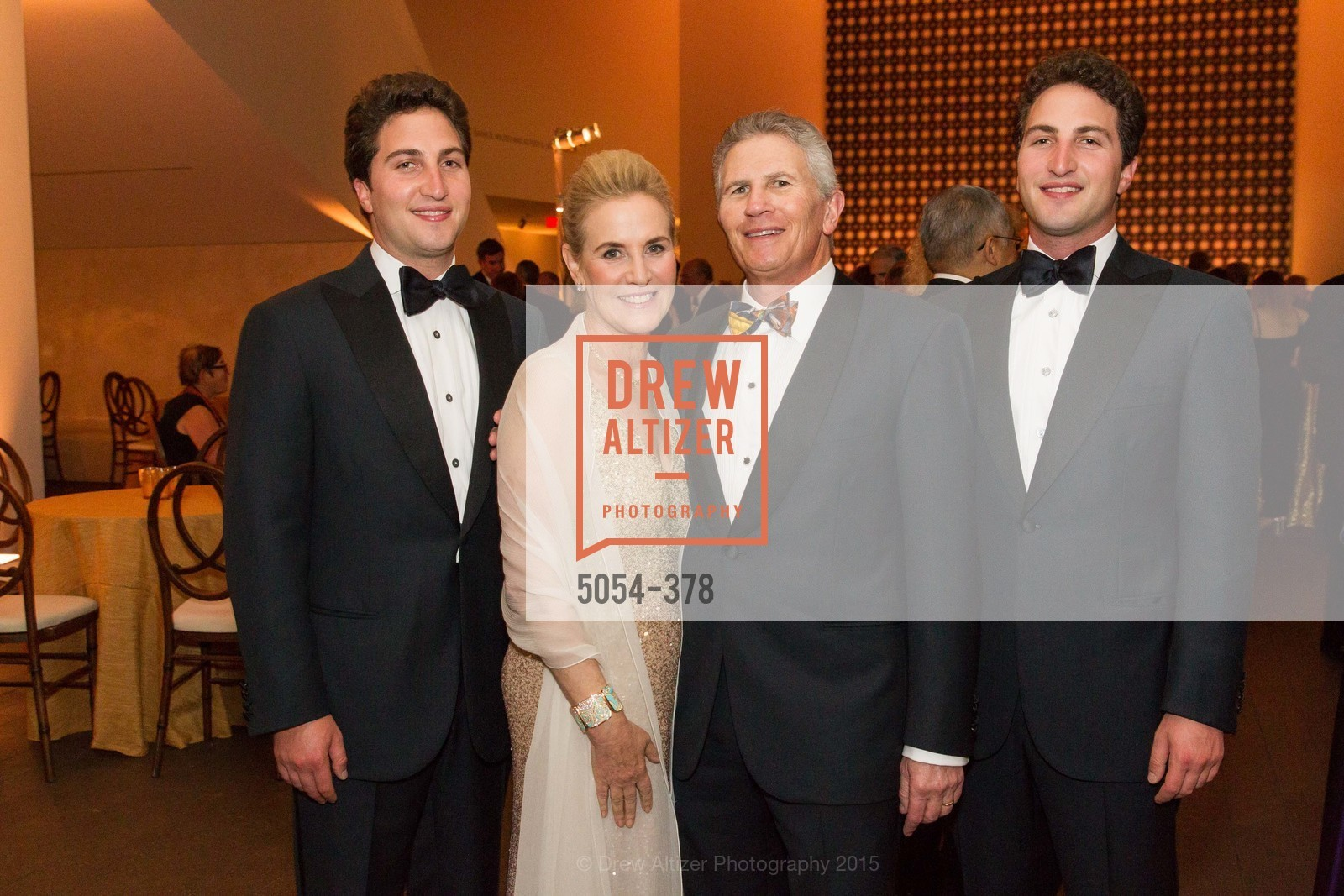 Matthew Goldman, Lisa Goldman, Doug Goldman, Jason Goldman, Tenth Anniversary Celebration of the New de Young  Museum, de Young Museum. 50 Hagiwara Tea Garden Dr, October 14th, 2015,Drew Altizer, Drew Altizer Photography, full-service agency, private events, San Francisco photographer, photographer california