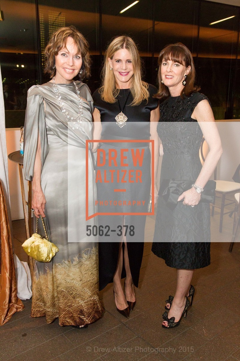Christine Suppes, Mary Beth Shimmon, Allison Speer, Tenth Anniversary Celebration of the New de Young  Museum, de Young Museum. 50 Hagiwara Tea Garden Dr, October 14th, 2015,Drew Altizer, Drew Altizer Photography, full-service agency, private events, San Francisco photographer, photographer california