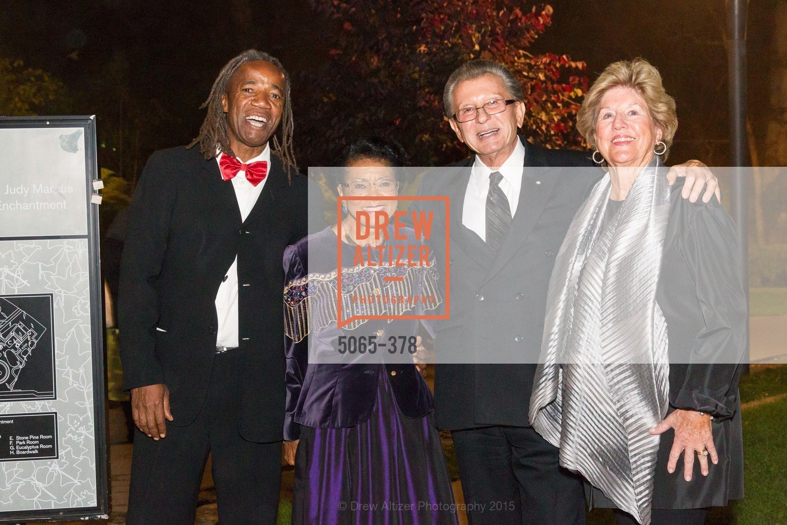 Belva Davis, George Marcus, Judy Marcus, Tenth Anniversary Celebration of the New de Young  Museum, de Young Museum. 50 Hagiwara Tea Garden Dr, October 14th, 2015,Drew Altizer, Drew Altizer Photography, full-service event agency, private events, San Francisco photographer, photographer California