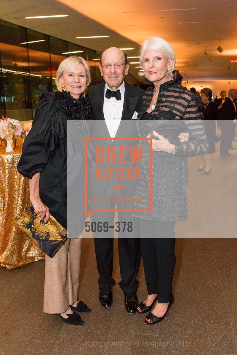 Marsha Lasky, Michael Lasky, Sandra Brown, Tenth Anniversary Celebration of the New de Young  Museum, de Young Museum. 50 Hagiwara Tea Garden Dr, October 14th, 2015,Drew Altizer, Drew Altizer Photography, full-service agency, private events, San Francisco photographer, photographer california