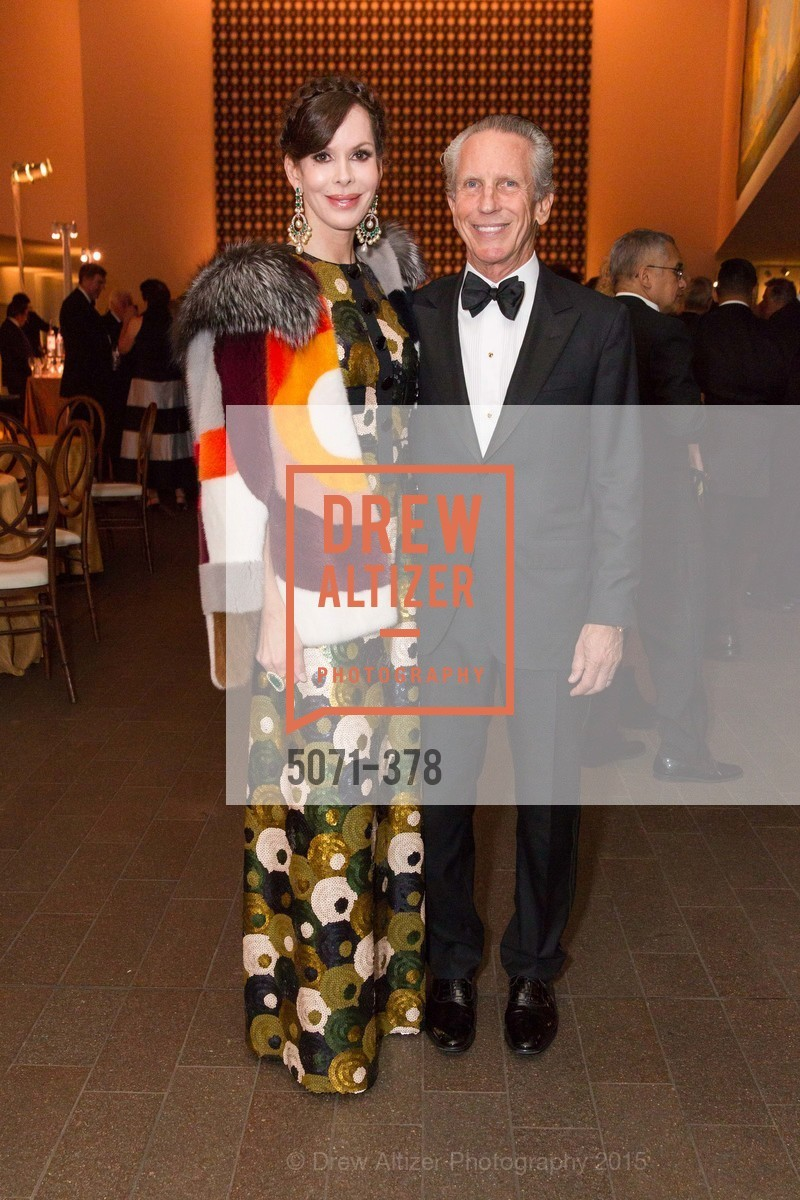 Stephanie Marver, Jim Marver, Tenth Anniversary Celebration of the New de Young  Museum, de Young Museum. 50 Hagiwara Tea Garden Dr, October 14th, 2015