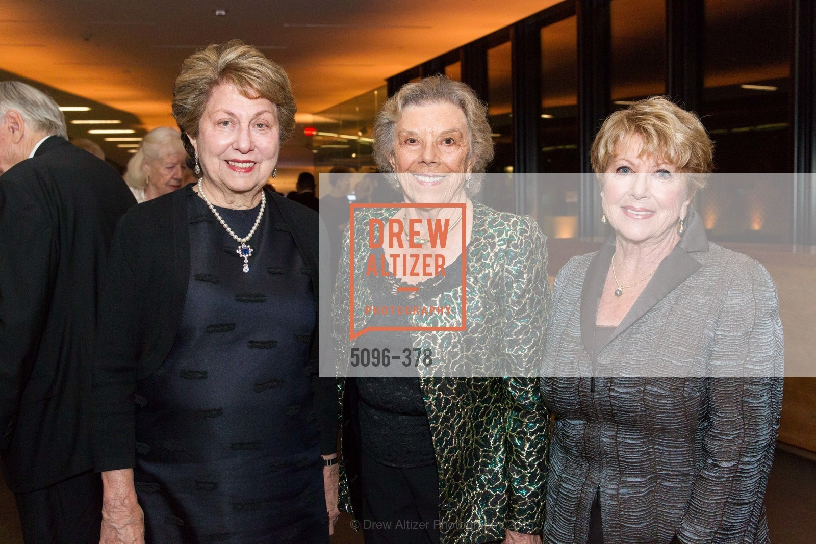 Nancy Boas, Cathy Coull, Betty Flag, Tenth Anniversary Celebration of the New de Young  Museum, de Young Museum. 50 Hagiwara Tea Garden Dr, October 14th, 2015,Drew Altizer, Drew Altizer Photography, full-service agency, private events, San Francisco photographer, photographer california