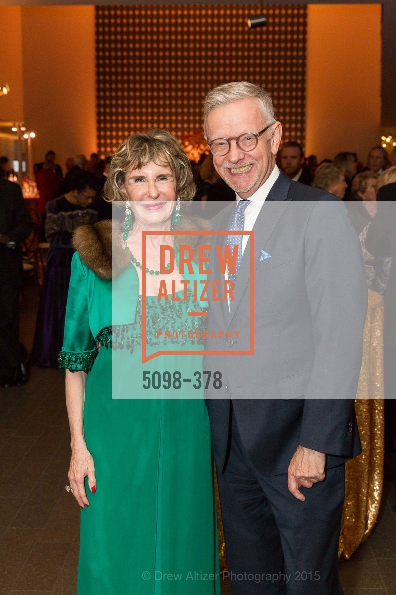 Lucy Hamilton, Martin Chapman, Tenth Anniversary Celebration of the New de Young  Museum, de Young Museum. 50 Hagiwara Tea Garden Dr, October 14th, 2015,Drew Altizer, Drew Altizer Photography, full-service agency, private events, San Francisco photographer, photographer california