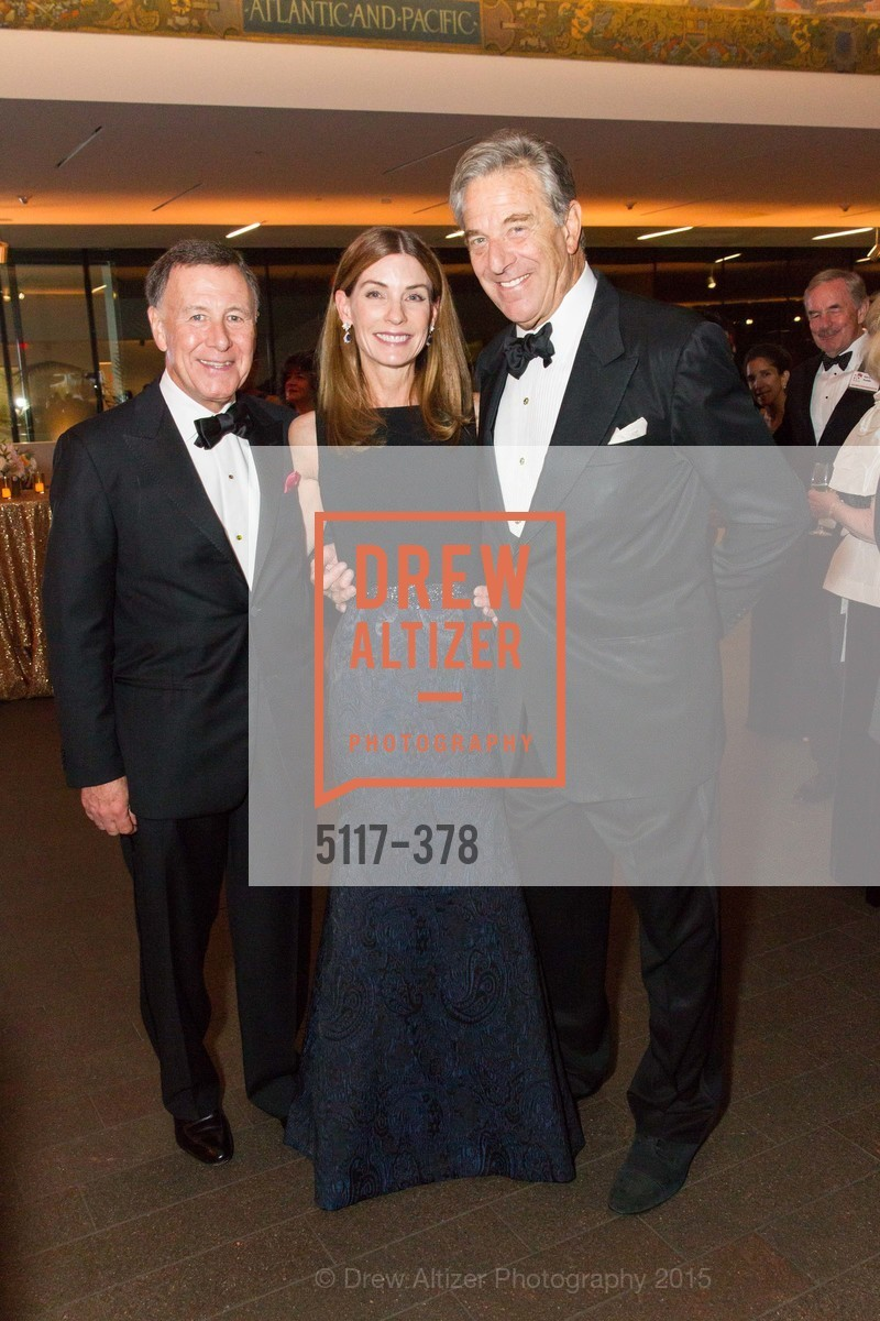 Carl Pascarella, Stephanie Milligan, Paul Pelosi, Tenth Anniversary Celebration of the New de Young  Museum, de Young Museum. 50 Hagiwara Tea Garden Dr, October 14th, 2015,Drew Altizer, Drew Altizer Photography, full-service agency, private events, San Francisco photographer, photographer california