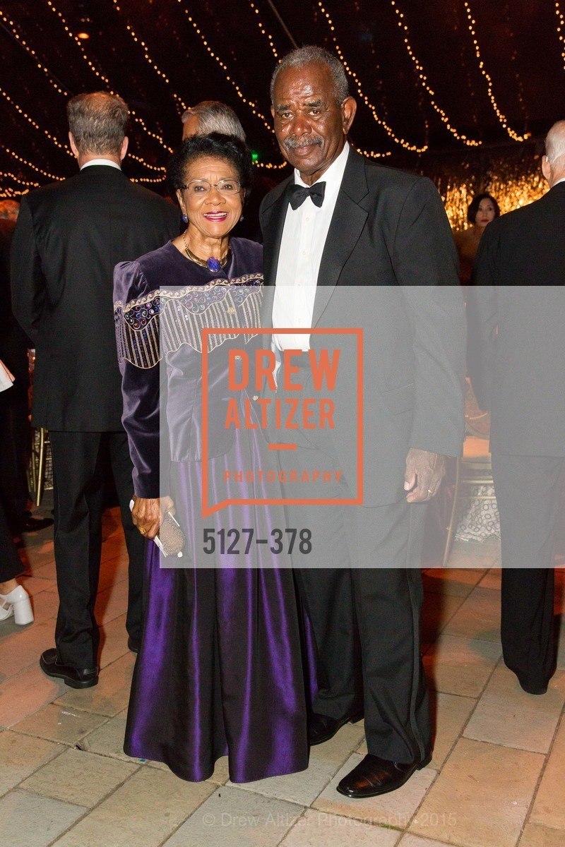Belva Davis, William Moore, Tenth Anniversary Celebration of the New de Young  Museum, de Young Museum. 50 Hagiwara Tea Garden Dr, October 14th, 2015,Drew Altizer, Drew Altizer Photography, full-service agency, private events, San Francisco photographer, photographer california
