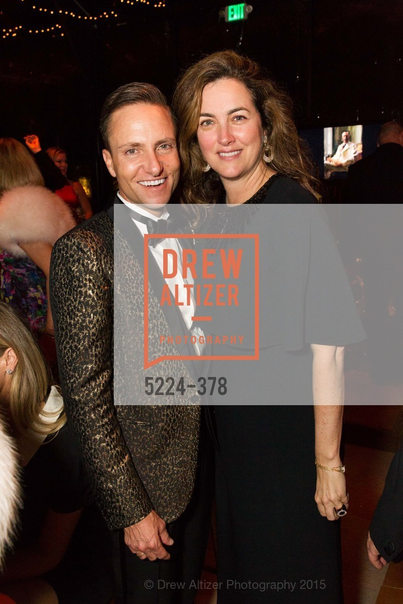 Ken Fulk, Alexis Traina, Tenth Anniversary Celebration of the New de Young  Museum, de Young Museum. 50 Hagiwara Tea Garden Dr, October 14th, 2015