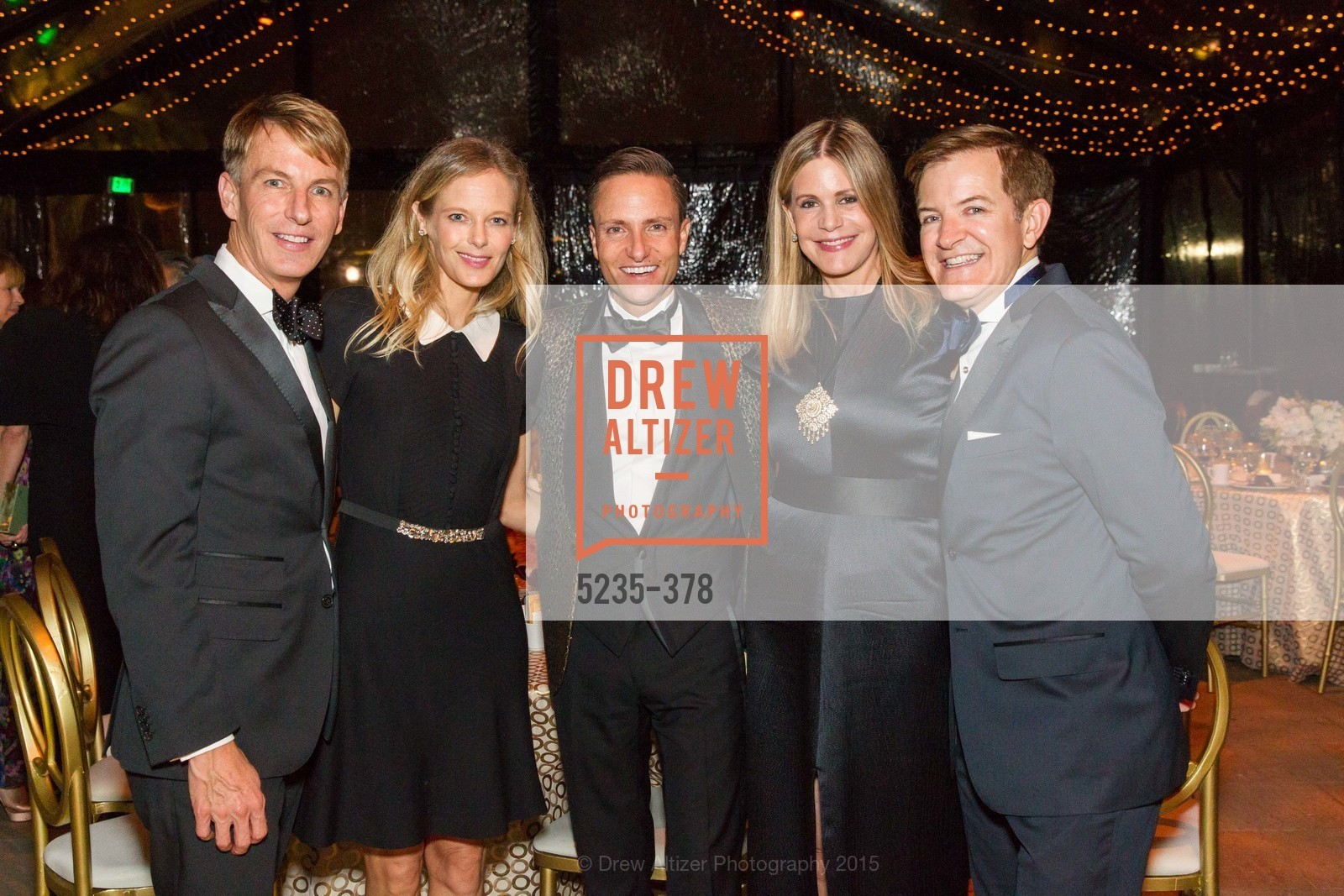 Jack Calhoun, Katie Traina, Ken Fulk, Mary Beth Shimmon, Trent Norris, Tenth Anniversary Celebration of the New de Young  Museum, de Young Museum. 50 Hagiwara Tea Garden Dr, October 14th, 2015,Drew Altizer, Drew Altizer Photography, full-service agency, private events, San Francisco photographer, photographer california