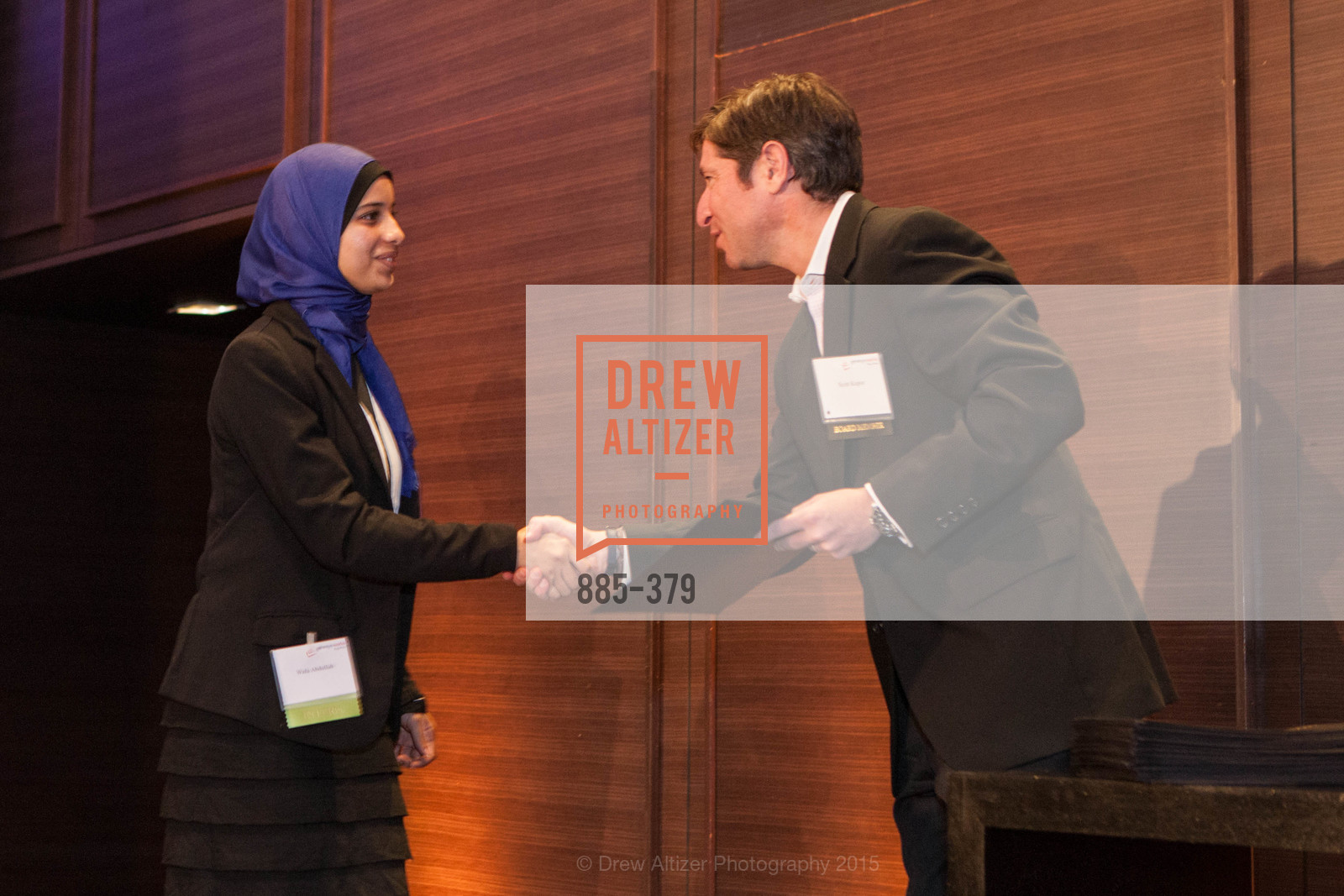 Wafa Abdullah, Scott Kupor, Genesys Works Bay Area Presents BREAKING THROUGH, St. Regis Hotel. 125 3rd St, October 14th, 2015,Drew Altizer, Drew Altizer Photography, full-service agency, private events, San Francisco photographer, photographer california