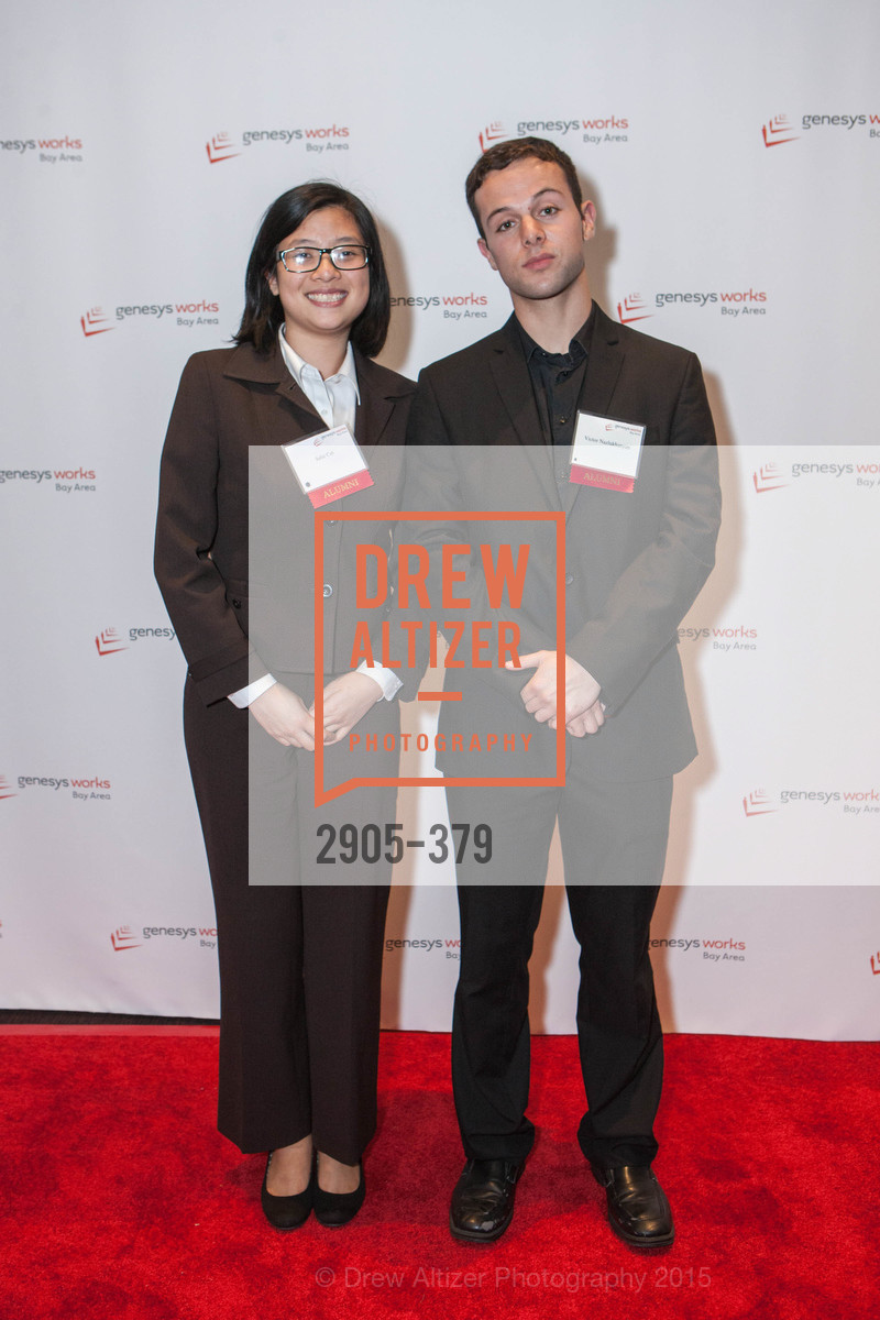 Julie Cai, Victor Nazlukhanyan, Genesys Works Bay Area Presents BREAKING THROUGH, St. Regis Hotel. 125 3rd St, October 14th, 2015,Drew Altizer, Drew Altizer Photography, full-service agency, private events, San Francisco photographer, photographer california